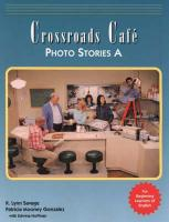Crossroads Cafe Photo Stories a: English Learning Program
