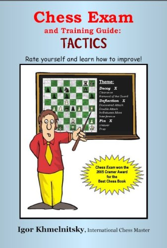 Chess Exam and Training Guide: Tactics: Rate Yourself and Learn How to Improve (Chess Exams) - Igor Khmelnitsky