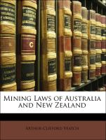 Mining Laws of Australia and New Zealand