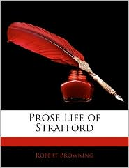 Prose Life of Strafford