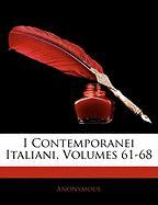 I Contemporanei Italiani, Volumes 61-68