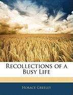 Recollections of a Busy Life