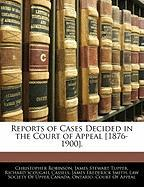 Reports of Cases Decided in the Court of Appeal [1876-1900].