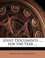 Joint Documents ... for the Year ...