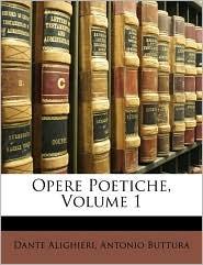 Opere Poetiche, Volume 1