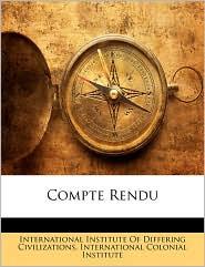 Compte Rendu