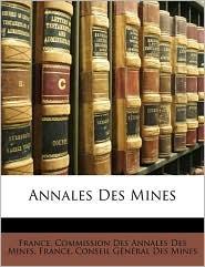 Annales Des Mines