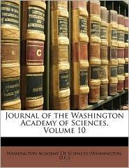 Journal of the Washington Academy of Sciences, Volume 10