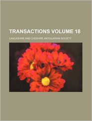 Transactions (Volume 18)