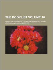 The Booklist (Volume 16)