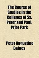 The Course of Studies in the Colleges of SS. Peter and Paul, Prior Park