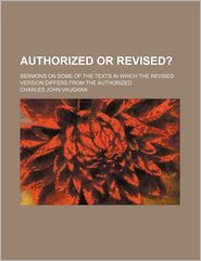 Authorized or Revised?