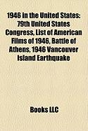 1946 in the United States: 79th United States Congress