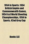 1954 in Sports: 1954 British Empire and Commonwealth Games