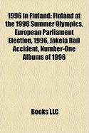 1996 in Finland: Finland at the 1996 Summer Olympics