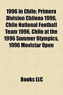 1996 in Chile: Primera Divisin Chilena 1996