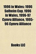 1996 in Wales: 1996 Solheim Cup