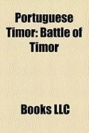 Portuguese Timor: Battle of Timor, Sparrow Force, Wehali, Battle of Timor Order of Battle, Portuguese Timorese Pataca