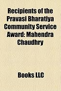 Recipients of the Pravasi Bharatiya Community Service Award: Mahendra Chaudhry
