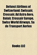 Defunct Airlines of Switzerland: Swissair