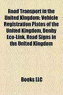 Road Transport in the United Kingdom: Vehicle Registration Plates of the United Kingdom