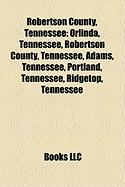 Robertson County, Tennessee: Tennessee's 6th Congressional District