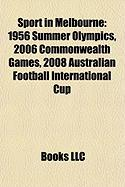Sport in Melbourne: 2006 Commonwealth Games