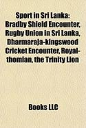 Sport in Sri Lanka: Bradby Shield Encounter