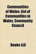 Communities of Wales: List of Communities in Wales