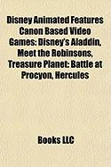 Disney Animated Features Canon Based Video Games: Disney's Aladdin