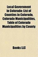 Local Government in Colorado: Colorado Municipalities