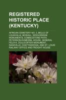 Registered Historic Place (Kentucky)