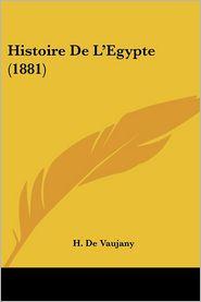 Histoire de L'Egypte (1881)