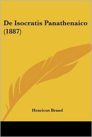 de Isocratis Panathenaico (1887)
