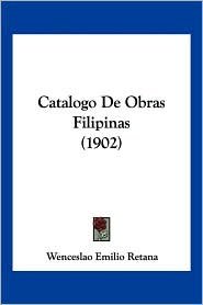 Catalogo de Obras Filipinas (1902)