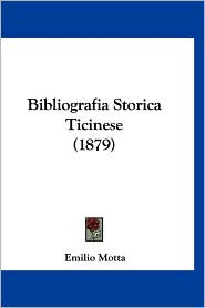Bibliografia Storica Ticinese (1879)