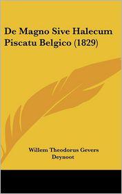 de Magno Sive Halecum Piscatu Belgico (1829)