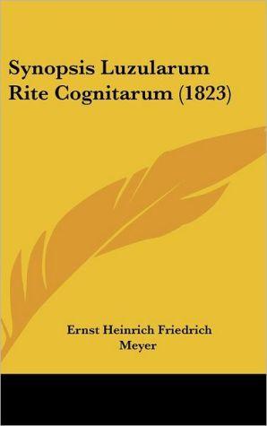 Synopsis Luzularum Rite Cognitarum (1823)