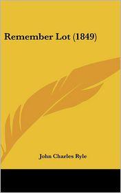 Remember Lot (1849)