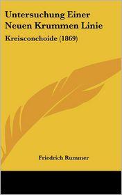 Untersuchung Einer Neuen Krummen Linie: Kreisconchoide (1869)