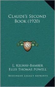 Claude's Second Book (1920)
