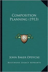 Composition Planning (1913)
