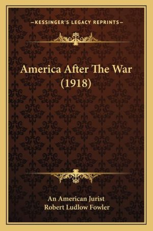 America After the War (1918)