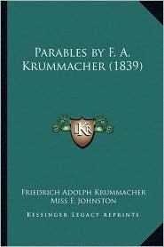Parables by F. A. Krummacher (1839)