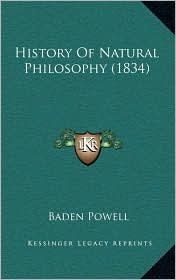 History of Natural Philosophy (1834)
