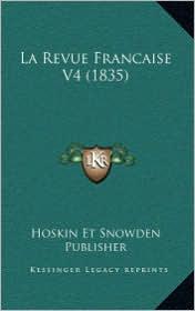 La Revue Francaise V4 (1835)