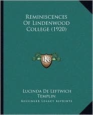 Reminiscences of Lindenwood College (1920)