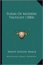 Poems of Modern Thought (1884)