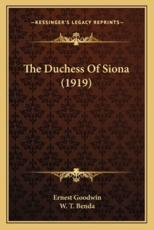 The Duchess of Siona (1919)