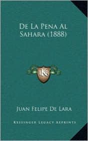de La Pena Al Sahara (1888)